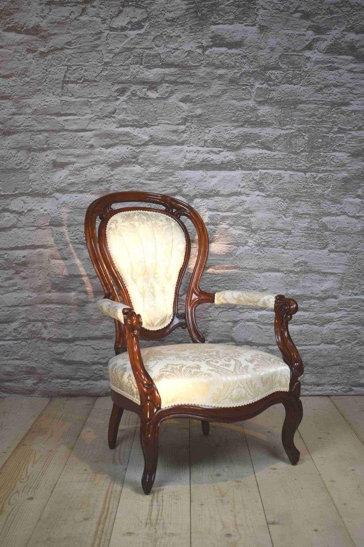 Victorian Mahogany Armchair